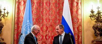 حمله غرب روند ژنو را هم نشانه گرفت/ تاکید دیمیستورا بر ایجاد راه حل نهایی جهت سوریه ، لاوروف